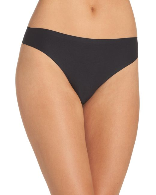 Chantelle - Black Seamless Thong - Lyst