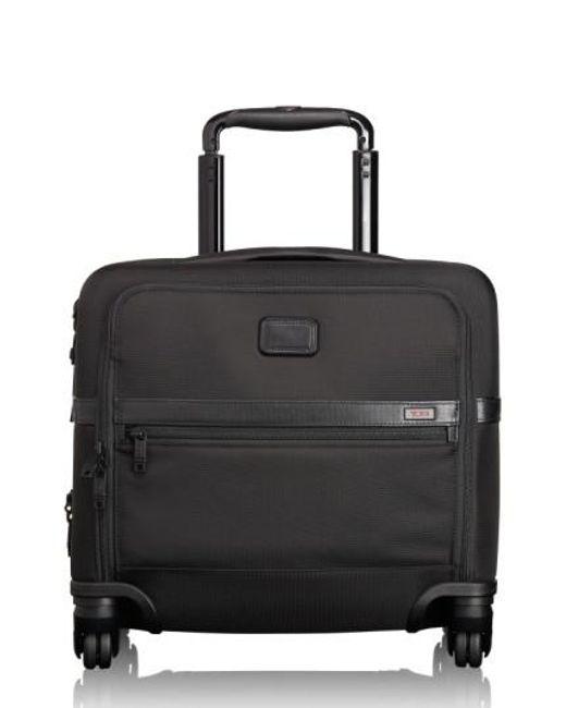Tumi - Black 'alpha 2' Expandable Wheeled Briefcase - Lyst