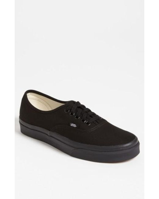 Vans - Black Vans 'authentic' Sneaker for Men - Lyst