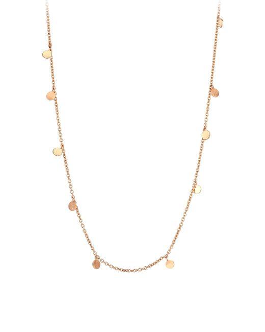 Kismet by Milka - Metallic Dangle Charm Necklace - Lyst