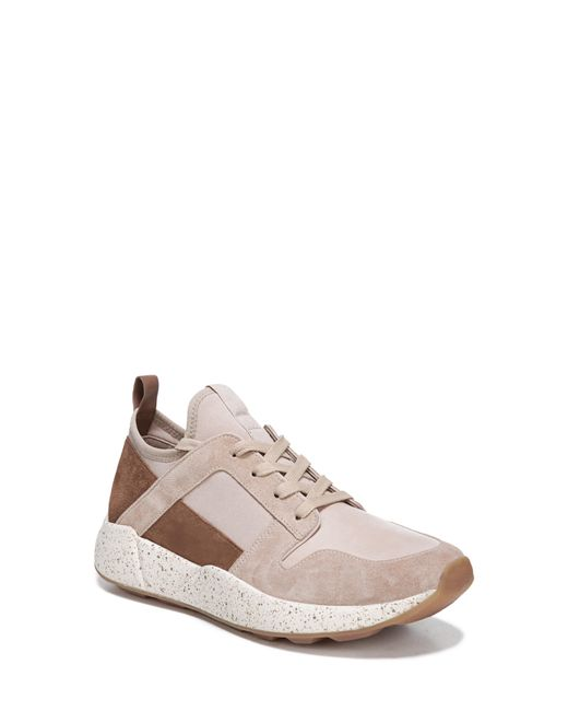 b21fa1e89d7a Lyst - Vince Galvin Sock Sneaker in Natural - Save 30%