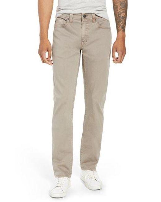 Fidelity - Gray Jimmy Slim Straight Leg Jeans for Men - Lyst