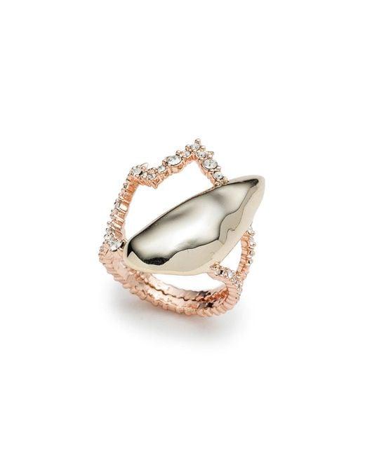 Alexis Bittar - Metallic Tulip Cocktail Ring - Lyst