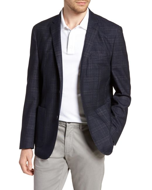 Vince Camuto - Blue Dell Aria Unconstructed Sport Coat for Men - Lyst