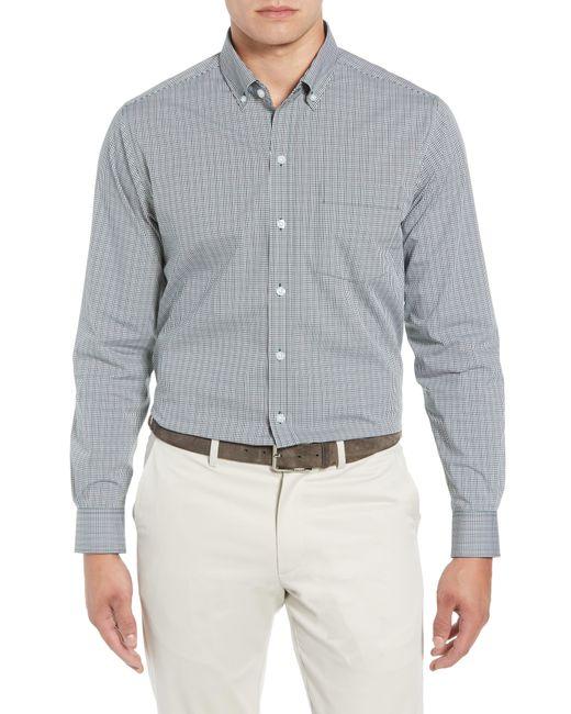 Cutter & Buck - Gray Casey Classic Fit Check Sport Shirt for Men - Lyst