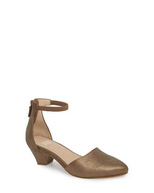 Eileen Fisher Women's Just Ankle Strap Pump a344VKJWQS