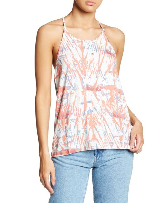 Threads For Thought - Gray Tory Racerback Tank - Lyst