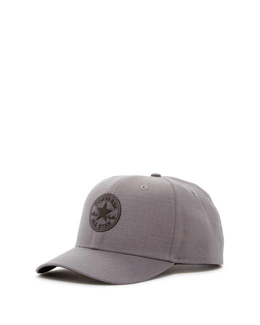 Converse   Gray Ripstop Snapback Cap for Men   Lyst