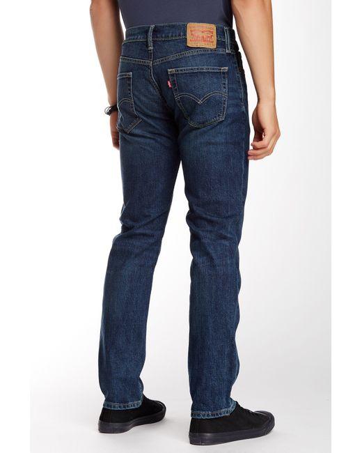 "Levi's | Blue 511 Slim Fit Jean - 30-34"" Inseam for Men | Lyst"