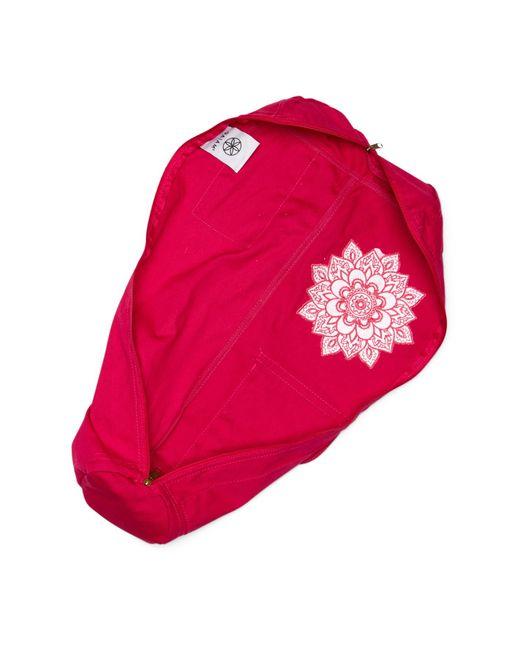 Gaiam Sundial Yoga Mat Bag In Pink