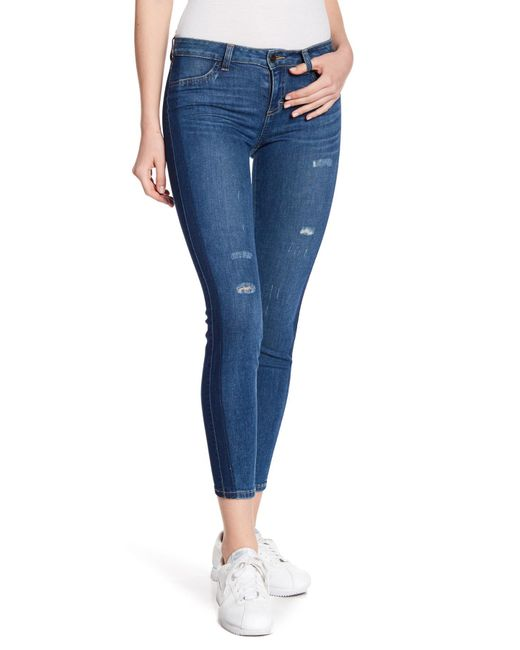 Siwy - Blue Hannah Low Rise Skinny Jeans - Lyst