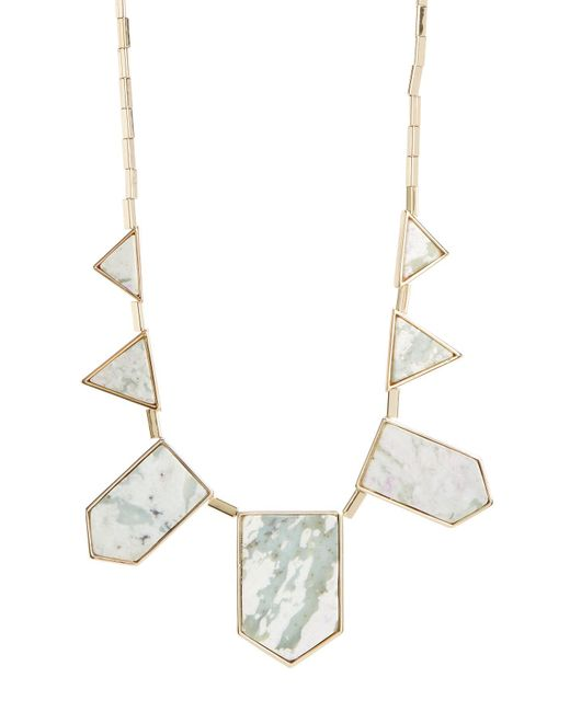 House of Harlow 1960 | Multicolor Stone Station Necklace | Lyst