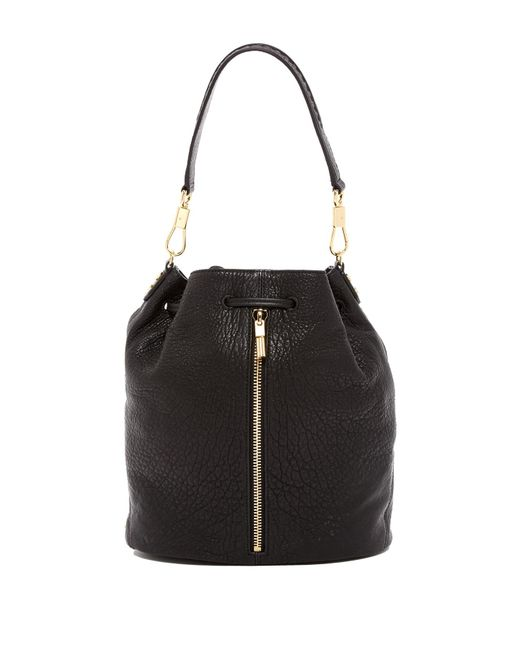 Elizabeth and James | Black Cynnie Leather Sling Backpack | Lyst
