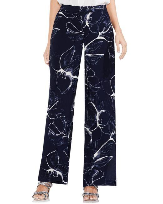 Vince Camuto - Blue Fresco Petals Wide Leg Pants - Lyst