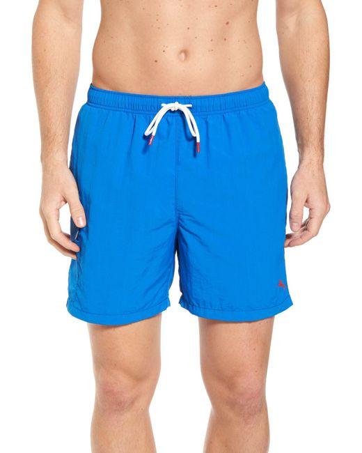 Tommy Bahama - Blue Naples Coast Swim Trunks for Men - Lyst