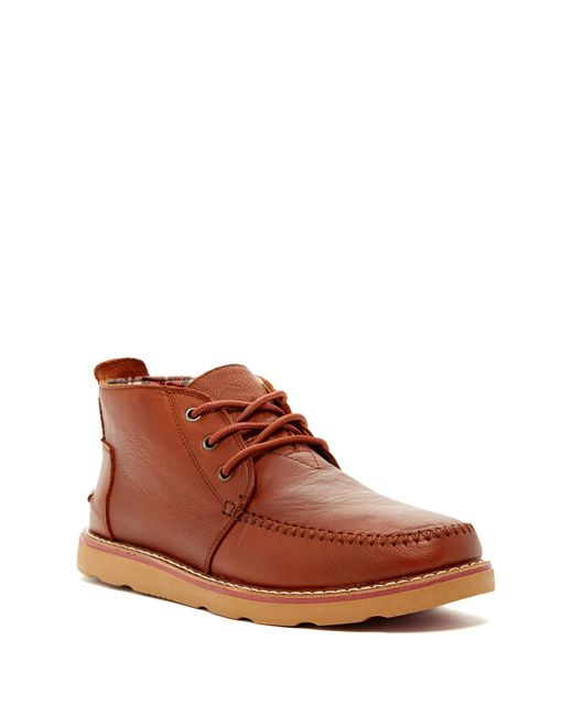 TOMS | Brown Chukka Boot for Men | Lyst