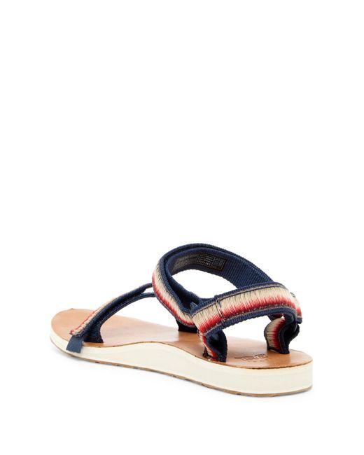 Teva Original Universal Ombre Platform Sandal In Blue Lyst