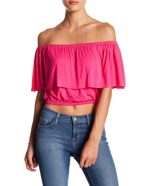 Clayton   Pink Molly Popover Shirt   Lyst