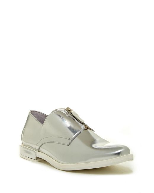 Miista - Metallic Rosana Zip Oxford - Lyst