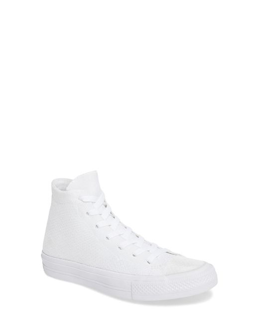 Converse | White Chuck Taylor All Star Fly Knit High Top Sneaker | Lyst