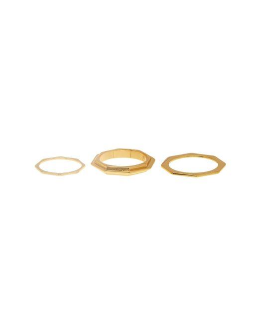 Gorjana   Metallic Peytin Ring Set - Size 7   Lyst