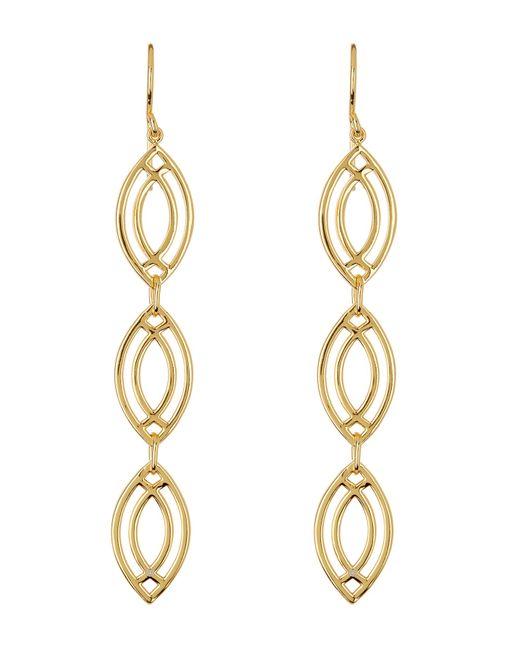 Gorjana   Metallic Mesa Weave Drop Earrings   Lyst