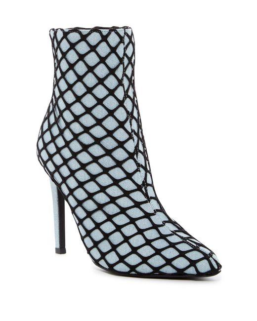 Cape Robbin - Black Gigi Fishnet Stiletto Boot - Lyst
