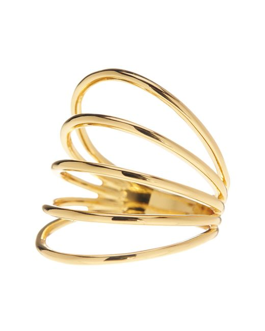 Gorjana   Metallic Carine Multi-bar Ring - Size 8   Lyst