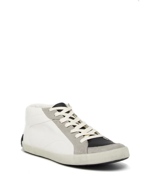Gbx - White 3/4 Vulcanized Hi-top Sneaker for Men - Lyst