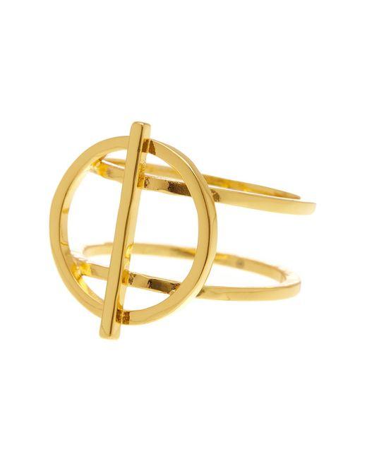 Gorjana | Metallic Anya Circle Ring - Size 7 | Lyst