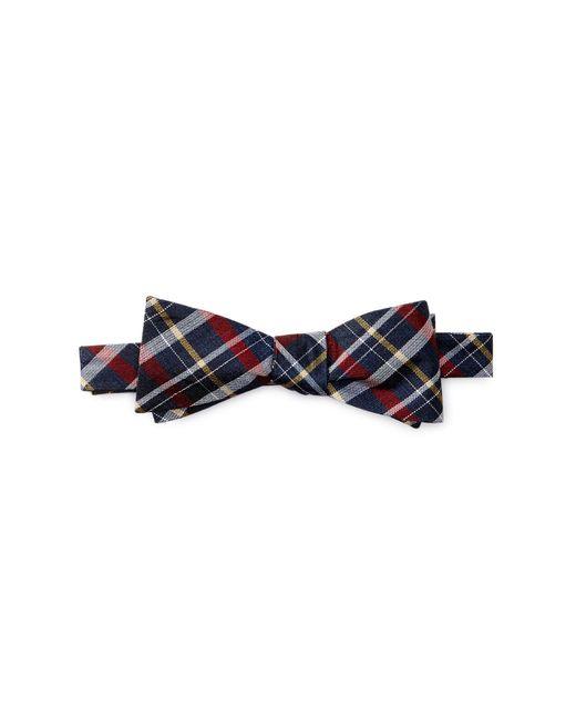 Ben Sherman - Blue Kensleigh Plaid Bow Tie for Men - Lyst