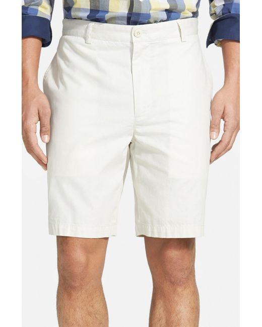 Vineyard Vines | Natural 'summer' Flat Front Twill Shorts for Men | Lyst