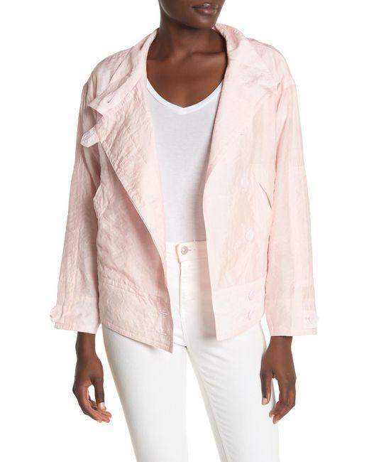 Rebecca Minkoff Pink Zahara Lightweight Moto Jacket
