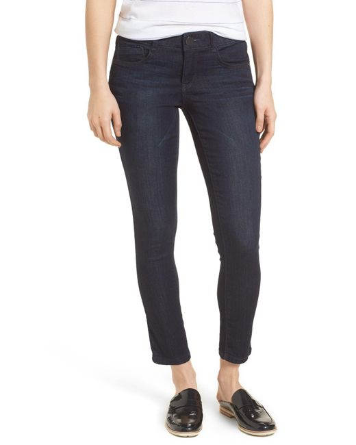 Wit & Wisdom - Blue Ab-solution Ankle Skimmer Jeans (nordstrom Exclusive) - Lyst