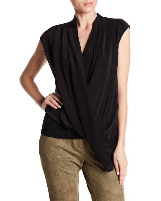 Religion - Black Dynamic Tank Blouse - Lyst