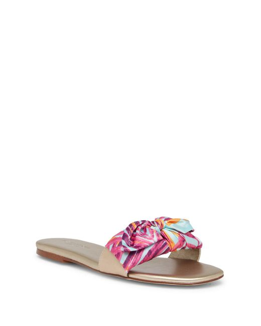 Halston Heritage - Multicolor Maile Slip-on Sandal - Lyst