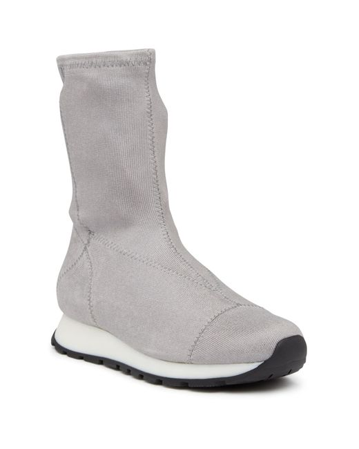 Free People   Metallic Astral Sneaker Boot   Lyst