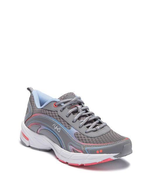 Ryka - Gray Inspire Athletic Sneaker - Wide Width Available - Lyst