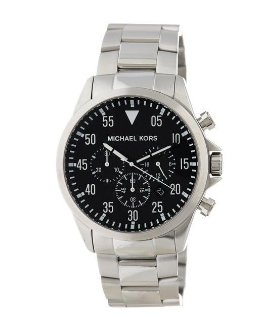 MICHAEL Michael Kors - Multicolor Men's Gage Bracelet Watch, 45mm for Men - Lyst