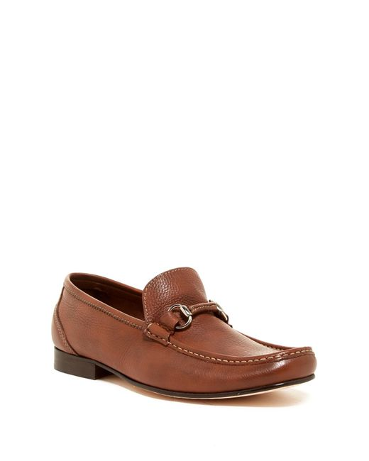 Sandro Moscoloni - Brown Sorrento Bit Buckle Loafer for Men - Lyst