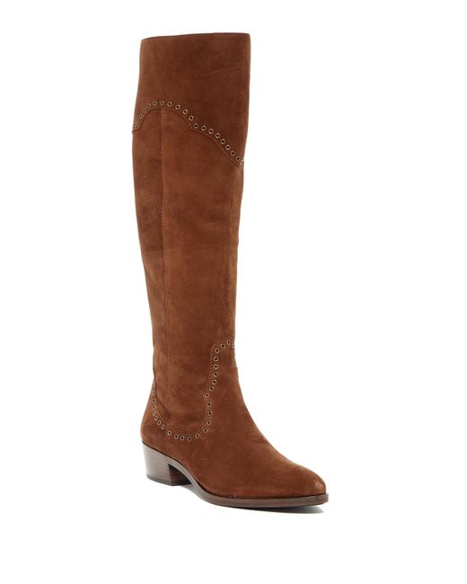 Frye | Brown Ray Grommet Tall Boot | Lyst