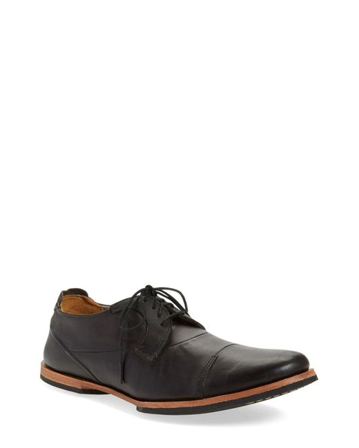 Timberland - Black 'wodehouse Lost History' Cap Toe Oxford for Men - Lyst