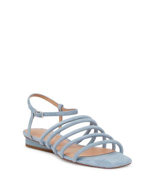 Halston Heritage - Blue Leandra Strappy Sandal - Lyst