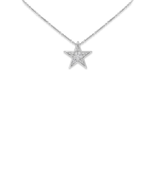 KC Designs | 14k White Gold Diamond Star Necklace - 0.26 Ctw | Lyst