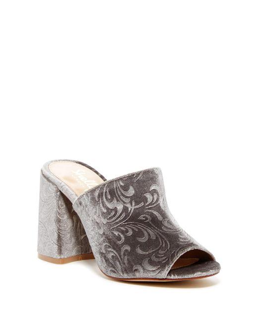 Shellys London - Gray Dalia Open Toe Mule - Lyst