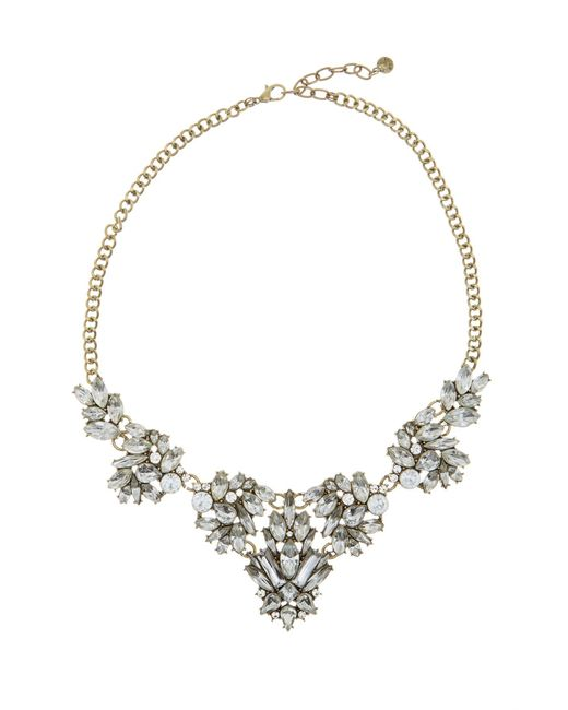 BaubleBar   Metallic Lana Crystal Necklace   Lyst