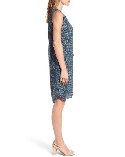 Sea glass color shift dress