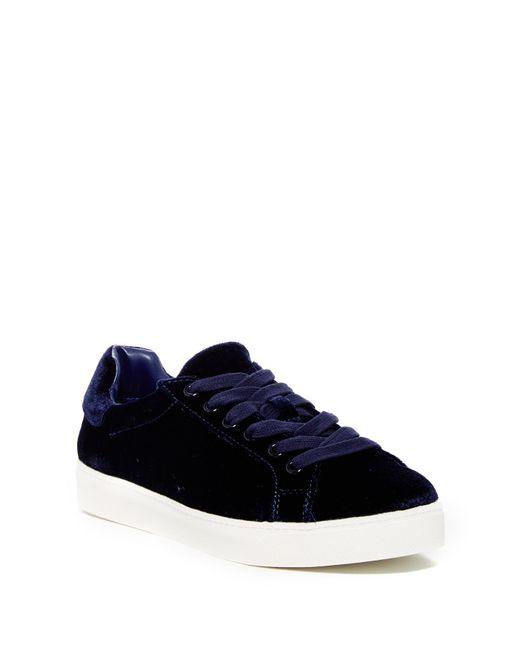 Circus by Sam Edelman - Blue Caprice Velvet Sneaker - Lyst