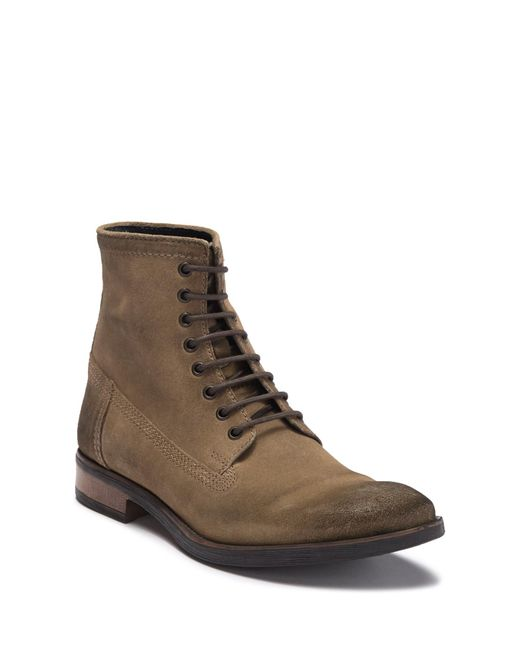 d6757466ceeff Frank Wright - Brown Cleef Suede Lace-up Boot for Men - Lyst ...