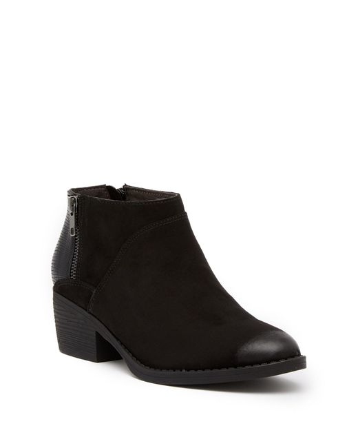 BC Footwear - Black Union Colorblock Bootie - Lyst